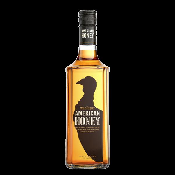 wild turkey american honey whiskey wine beer